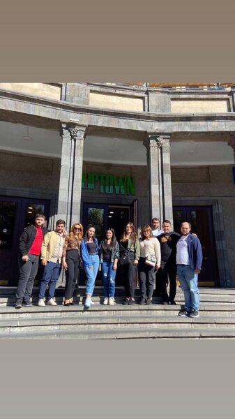 ԵՄԱՊՔ-ի 4-րդ կուրսի «Ռեժիսուրա» մասնագիտության ուսանողները դիտեցին «Սողոմոնի երգերերը» ֆիլմը