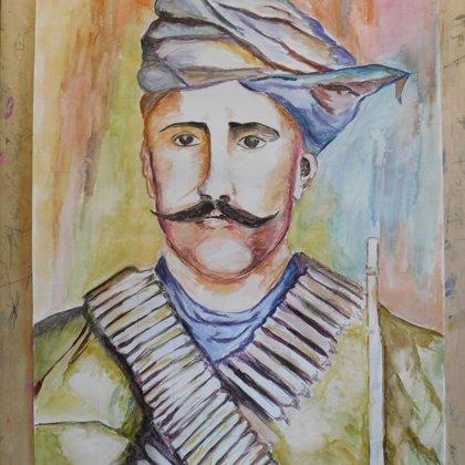ԵՄՊՔ-ում տեղի ունեցավ «Հերոսամարտերը նկարիչների աչքերով» խորագիրը կրող ցուցահանդեսը