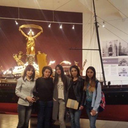 «Հաշվապահական հաշվառում»  մասնագիտության 2-րդ կուրսի ուսանողները  այցելեցին Գաֆէսճեան արվե